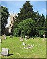 TL2256 : Abbotsley church and churchyard by John Sutton