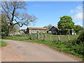 NY4235 : Barns attached to Ellonby Hall by Matthew Hatton