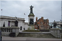 TA0928 : Queen Victoria Statue by N Chadwick