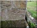 NU2322 : Cut Mark: Embleton, Holy Trinity Church by Brian Westlake