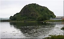 NS4074 : Dumbarton Rock by Richard Sutcliffe