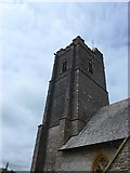 SS6243 : St Thomas, Kentisbury: tower by Basher Eyre