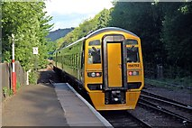 SD9926 : Northern Rail Class 158, 158752, Hebden Bridge railway station by El Pollock