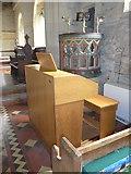 SS6243 : St Thomas, Kentisbury: organ by Basher Eyre