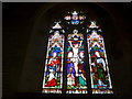 SS6243 : St Thomas, Kentisbury: stained glass window (1) by Basher Eyre