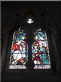 SS6243 : St Thomas, Kentisbury: stained glass window (2) by Basher Eyre