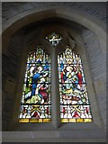 SS6243 : St Thomas, Kentisbury: stained glass window (5) by Basher Eyre