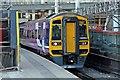 SJ8499 : Northern Rail Class 158, 158853, platform 2, Manchester Victoria railway station by El Pollock