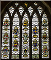 SU8504 : Bishops of Chichester window, Chichester Cathedral by Julian P Guffogg