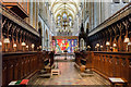 SU8504 : The Quire, Chichester Cathedral by Julian P Guffogg