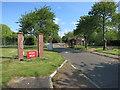 TL4966 : Waterbeach Barracks entrance by Hugh Venables
