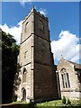 ST5290 : Mathern, St Tewdric by Dave Kelly