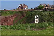 NT6779 : Cliffs at Dunbar by Stephen McKay