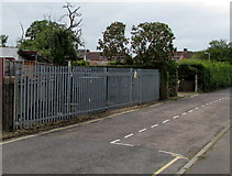 SU3521 : Jubilee Road electricity substation, Romsey by Jaggery