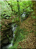 SE0722 : Waterfalls on Maple Dean Clough, Norland (18) by Humphrey Bolton