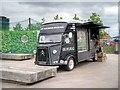 TQ3083 : Mobile Snack Bar at Granary Square by David Dixon