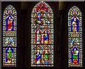 SU8504 : West window (lower), Chichester Cathedral by Julian P Guffogg
