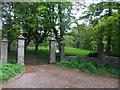 NJ4214 : Eastern gateway to Glenkindie House by Stanley Howe