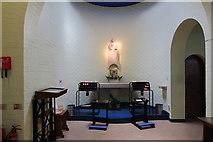 TQ1289 : St Luke, Love Lane, Pinner - Shrine by John Salmon