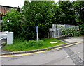 SU3621 : Bridge Road electricity substation, Romsey by Jaggery