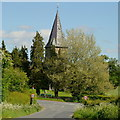 SO4230 : St Peter's church, Wormbridge by Jonathan Billinger