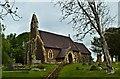 SO5520 : St Matthew, Marstow by Philip Pankhurst