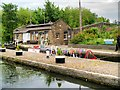 TQ2983 : St Pancras Lock, Regent's Canal by David Dixon