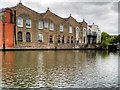 TQ2884 : Warehouse alongside the Regent's Canal at Camden Town by David Dixon