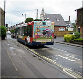 SU3521 : Flock to Winchester by bus, Romsey by Jaggery