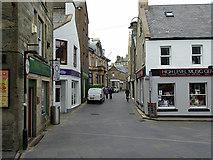 HU4741 : Commercial Street, Lerwick by John Lucas