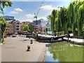 TQ3183 : Regent's Canal, City Road Lock by David Dixon