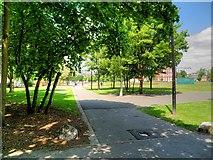 TQ3283 : Shoreditch Park by David Dixon