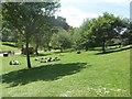 NT2573 : Relaxing in Princes Street Gardens, Edinburgh by Graham Robson