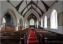 TM4077 : St Peter, Holton - East end by John Salmon