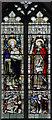 TG5003 : St Nicholas, Bradwell - Stained glass window by John Salmon