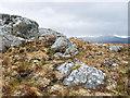 NH4051 : On the ridge of Sron nan Saobhaidh by Julian Paren