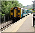 SO1707 : Train not yet at the Ebbw Vale terminus by Jaggery