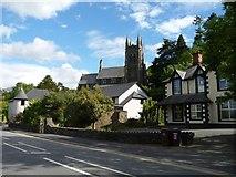 SH5638 : Eglwys St Ioan / St John's Church, Porthmadog by Christine Johnstone