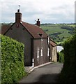 ST5260 : Chapel Cottage and Chapel, Nempnett Thrubwell by Derek Harper
