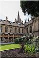 SP5106 : Garden, Brasenose College, Oxford by Christine Matthews