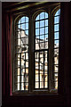 SP5106 : Window in Dining Room, Brasenose College, Oxford by Christine Matthews