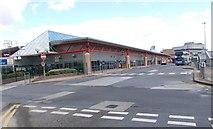 SE1632 : Bradford Interchange - from Croft Street entrance by Betty Longbottom
