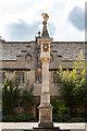 SP5106 : Quadrangle, Corpus Christi College, Merton Street, Oxford by Christine Matthews