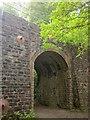 ST5574 : Railway arch by River Avon Trail by Derek Harper