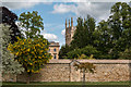 SP5105 : Wall adjacent to Christ Church College, Oxford by Christine Matthews