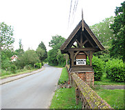 TM1476 : View east along Rectory Road by Evelyn Simak