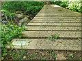 NZ1505 : New Bridge over Smelt Mill Beck by Mick Garratt