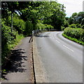 ST6332 : NW end of roadside railings, Station Road, Castle Cary by Jaggery
