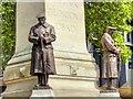 TQ2982 : War Memorial at Euston Station by David Dixon