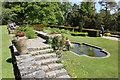 SH5269 : Terraced Garden at Plas Newydd by Jeff Buck